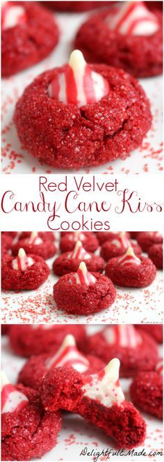 With a pretty sparkle and topped with a candy cane kiss, these fabulous holiday cookies will be the star of your holiday season. Perfect for cookie exchanges, Christmas parties, and leaving for Santa!