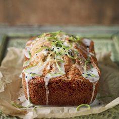 Chetna Makan's lime and black sesame cake, an easy baking recipe from www.redonline.co.uk