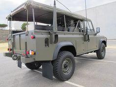 Ex MOD Land Rover Defender 110.