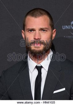 Hamburg, Germany. 7th Feb, 2017. Leading actor Jamie Dornan arrives for the European premiere of the film 'Fifty - Stock Photo