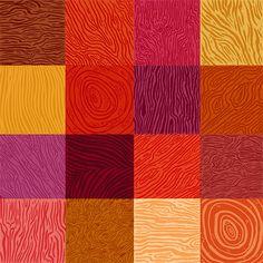wood grain red pink orange