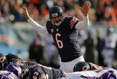 Jay Cutler-so glad he was back against the Vikings!