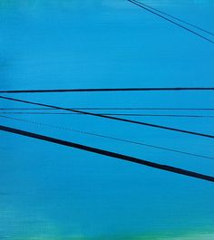 Ronda Stephens - Power Lines 19 - Thirty Paintings in Thirty Days ©AbstractionsbyRonda / http://abstractionsbyronda.blogspot.com