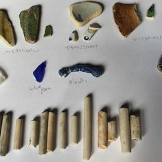 Exciting R&D from Jessamy Harvey looking forward to seeing the journey unfold with Thames beach combing what will these become? Journey, Jewels, Jewellery, History, Studio, Beach, Instagram Posts, Life, Historia