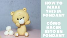 Fondant Figures Tutorial, Cake Topper Tutorial, Fondant Toppers, Fondant Cakes, Fondant Teddy Bear, Cake Craft, Cake Decorating, Christening Cakes, Make It Yourself