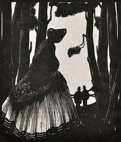 'The Crinoline' By Clare Leighton (1925)