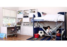 Ball bunk bed - Teens Furniture - | lastenhuonekalut | nuortenhuonekalut | lasten ja nuorten huonekalukauppa | sisustus | Satuhuone Oy