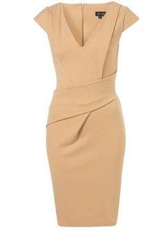 V-neck Pointe Pencil Dress - I really like this