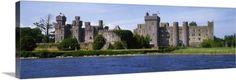 The Irish Image Collection Premium Thick-Wrap Canvas Wall Art Print entitled Ashford Castle near Lough Corrib, County Galway, Ireland, None