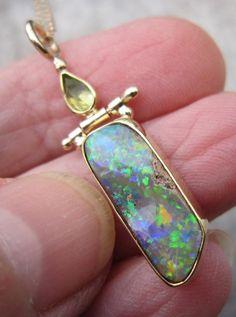 Butter Shrimp, Garlic Butter, Opal Gemstone, Gemstone Rings, Metal Jewelry, Unique Jewelry, Blue Pearl, Opals, Peridot