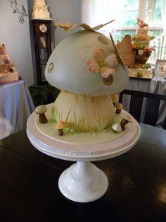 Fairytale Mushroom Cake for 6yr old little girl.