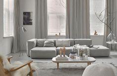 Inspiratie Gordijnen Woonkamer : Beste afbeeldingen van gordijnen in de woonkamer roobol in