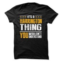 Its a HARRINGTON Thing BA001 - #shirt skirt #country sweatshirt. GET YOURS => https://www.sunfrog.com/Names/Its-a-HARRINGTON-Thing-BA001.html?68278