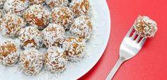 Mrkvovo-fíkové kuličky. Neveřili byste, ale i z mrkve se dá vyrobit vynikající cukroví....