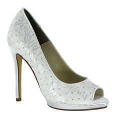 Touch Ups Women's Classy Platform Pump #shoes #benjaminwalkshoes #heels #wedding #bridal #bridal