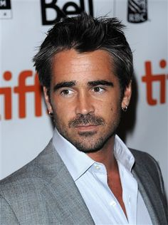 Colin Farrell looking particularly delicious.