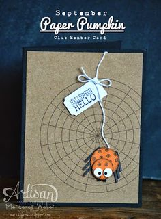 Creations by Mercedes: September Paper Pumpkin Night