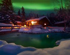 A Warm Winter Cabin-Chena Hot Springs, Alaska