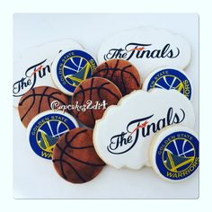 Birthday Cookies Golden State Warriors By
