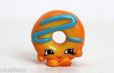 Shopkins Season 4 4 015 Orange Dolly Donut Rare Shopkin   eBay