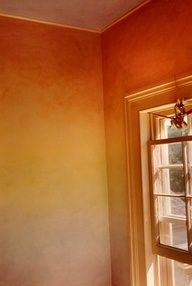 Seriously.  Dining room.  I think we can pull this off.  Ombré wall.