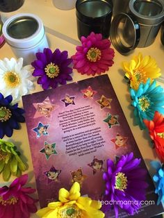 These flower wish boxes inspired by Disney's Star Darlings are so fun and easy to make! Use the FREE printable to print out friendship notes and wishes to include inside! This is a great idea to do when you are stuck inside on a rainy summer day! #teachmama #disney #stardarlings #flowers #flowerbox #spring #giftidea #teacherappreciation