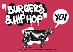 Burgers  Hiphop Party at Prince Charles