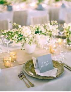 Place cards/menus