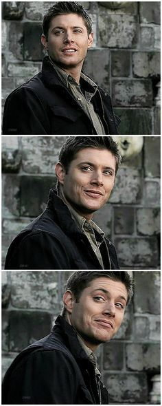 Dean checking you out.