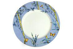 "17"" Bamboo Blue Round Platter on OneKingsLane.com"