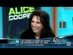 I did this interview with Alice Cooper Apr. 12, 1996 at the Motor City Music Awards in Detroit. He talks about his Christian testimony, his family background...