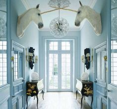 The Decorista-Domestic Bliss: Style-icious Sunday: Magical and Blue...
