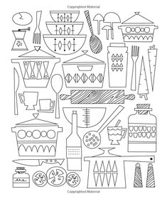 Just Add Color: Mid-Century Modern Mania: 30 Original Illustrations To Color, Customize, and Hang: Jenn Ski: 9781592539475: Amazon.com: Books