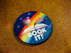 Book It! Reading, Pizza Hut, childhood, memories, 80s, 90s