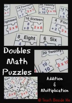 $ Doubles Math Puzzles