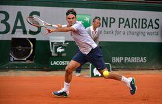 Roger Federer a démarré fort sa rencontre face à Gilles Simon en s'adjugeant le premier set 6/1.