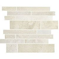Travertine subway backsplash tile. Light ivory travertine beige color kitchen backsplash tile.
