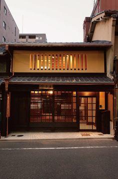 ★大集合!住みたい 知りたい 京町家 Japanese Style House, Traditional Japanese House, Japanese Modern, Japan Interior, Japanese Interior Design, Japanese Design, Japan Architecture, Historical Architecture, Architecture Design