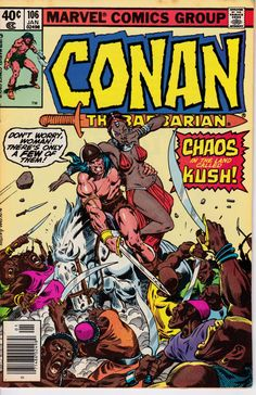 Conan the Barbarian 106 January 1980 Issue  Marvel by ViewObscura