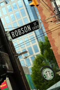 Vancouver - Robson Street by Waqas Ahmed, via Flickr   Coffee anyone?