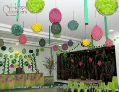 Decoración Fiesta Dora la Exploradora en la Selva www.happy-occasions.com