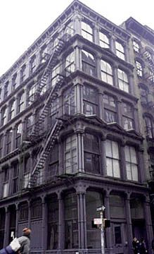 Walking through NYC I was always in awe of 101 Spring Street not realizing its the last intact single-use-cast-iron building remaining in Soho.