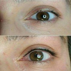 Permanent Eyeliner, Makeup Tattoos, Pretty Hairstyles, Wedding Makeup, Eyebrows, Eye Makeup, Hair Beauty, Make Up, Eye Liner