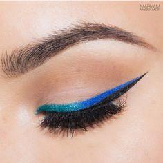 Mermaid Liner Look on the #Sephora Beauty Board