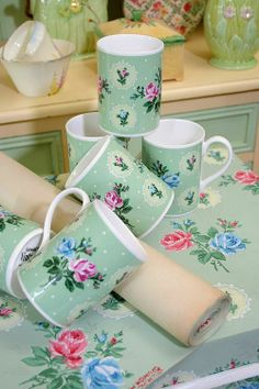Vintage Home - Vintage Home Cotswold Rose China Mug.