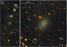 Tecnologia: #Dragonfly #44 la #galassia fatta al 999% di Materia Oscura (link: http://ift.tt/2bHDjzH )