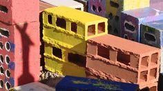 Project Morrinho: An International Art Installation Childhood Games, Recycled Materials, Installation Art, Brazil, Recycling, Artist, Projects, Slums, Log Projects
