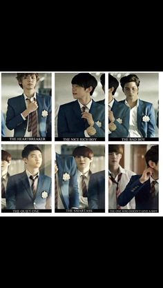 Omg EXO so hot!!  I can't pick between the heartbreaker or the quiet one XD!!