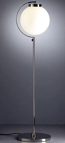 Bauhaus lamp designed by Richard Döcker. [1923]