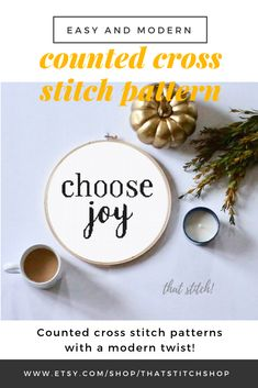 Trendy Holiday Gifts For Coworkers Funny Ideas Easy Cross, Simple Cross Stitch, Funny Cross Stitch Patterns, Cross Stitch Designs, Cross Stitch Quotes, Stitch Shop, Cross Stitch Fabric, Choose Joy, Gifts For Coworkers